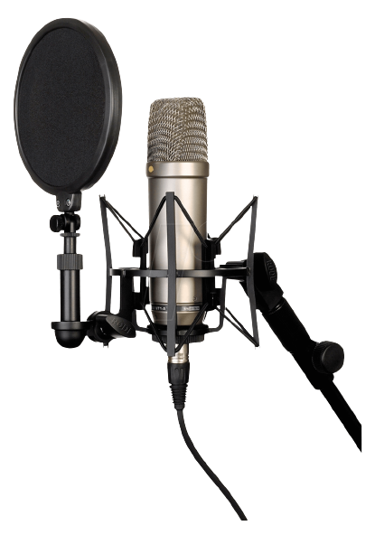 509 5093081 large diaphragm cardioid condenser microphone rde hd png removebg preview 1